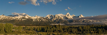 Tetons Panorama photo